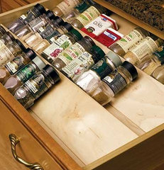 cabinet and drawer organizers by KitchenSource.com
