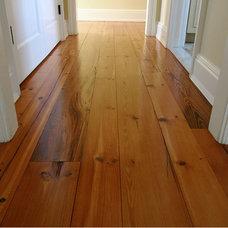 Traditional Hardwood Flooring by Lumber Jane Wide Plank Flooring