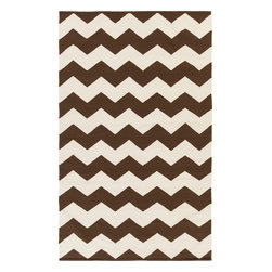 Artistic Weavers - Artistic Weavers Vogue Collins (Brown, White) 9' x 12' Rug - This Hand Woven rug would make a great addition to any room in the house. The plush feel and durability of this rug will make it a must for your home. Free Shipping - Quick Delivery - Satisfaction Guaranteed