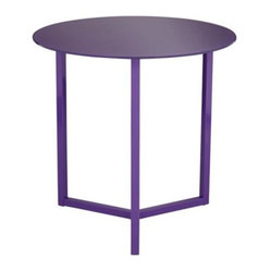 Brunetta Purple Accent Table