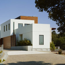 Modern Exterior by Charles Debbas Architecture