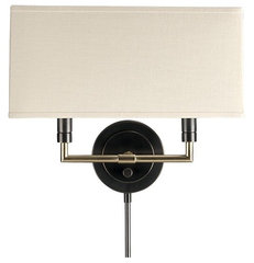 contemporary wall sconces by Crate&amp;Barrel