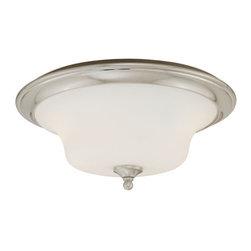 Vaxcel Lighting - Vaxcel Lighting C0011 Sonora 2 Light Flush Mount Ceiling Fixture - Features: