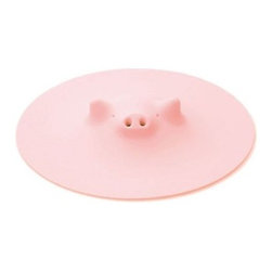 Marna Pink Piggy Steamer - Use this silicon piggy for steaming food, covering bowls and opening stubborn jars.