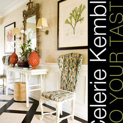 "Celerie Kemble: To Your Taste: Creating Modern Rooms with a Traditional Twist - This book is full of Celerie Kemble's wonderful designs, favorite designs and accessible, helpful advice. Her style has deep Palm Beach roots that spread (grew into a tree, ""branched out"", whatever, this analogy stinks) over to touch New England's brand of preppy and Manhattan's chic polish."
