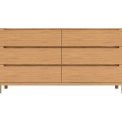 Greenington | Orchid 6 Drawer Dresser