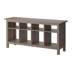 HEMNES Sofa table - Sofa table, gray-brown