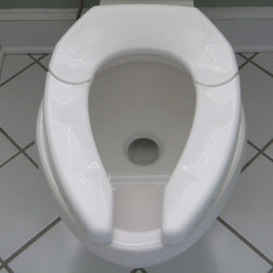 Bariatric / Aging-in-Place - Adjustable Advantage Toilet Seat - Closed
