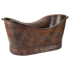 Rustic Bathtubs by Lucido Copper