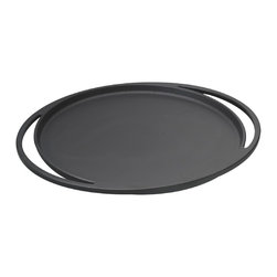 Lava Metal Dokum San. Tic. A.S. - Lava ECO Enameled Cast Iron 11-1/2 in. Round Pizza-Crepe-Pancake Pan - Lava's ECO 11-1/2 inch diameter round Pizza-Crepe-Pancake pan is true multi-tasking cookware.  Bake a pizza, pan fry delicate crepes or griddle perfect pancakes.  You can also use as a baking pan for biscuits, sweet rolls or cookies.  Serve straight from the oven or stove top to the table.  Preheat ahead and use as a warming dish to keep foods hot and tasty for serving.  Chill in the freezer and use to serve chill-and-serve cold dishes.  The premium enameled matte finished cast iron surface of this versatile pan ensures that pizzas, sweet-breads, pancake batter, even meats and vegetables all cook evenly and perfectly with little oils needed for healthier eating.  Enameled cast iron offers a non-reactive cooking surface that doesn't absorb or transfer flavors or other chemicals to your food when cooking like other cast iron or non-stick surfaces can do.