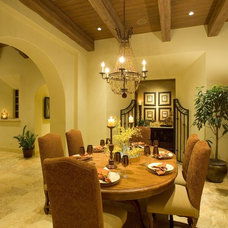 Mediterranean Dining Room by London Bay Homes