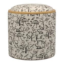 "Pomada - Animals Box Ottoman, White - Winner of the ""Oro Valmont"" award for designer of the year 2011."