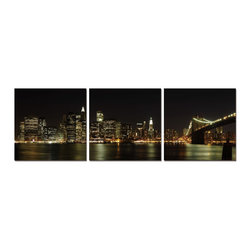 Elementem Photography - NYC at Night Print - Mounting Instructions: