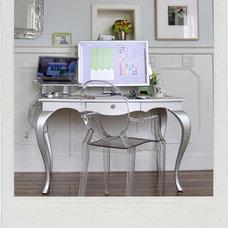 ghostchair-silverdesk-Polaroid » DELPHINE EPHEMERA — Wedding Invitations, Let