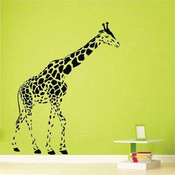 ColorfulHall Co., LTD - Vinyl Decals Giraffe Jungle Animals - Vinyl Decals Giraffe Jungle Animals