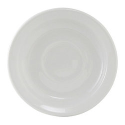 Tuxton - Colorado 5 7/8 inch Saucer Narrow Rim Porcelain White - Case of 36 - Our plates and dishes are designed to combine with insulated domes bases and other innovative food systems for extended heat retention. Versatile and durable with a modern flair: that's Alaska. With a full selection of accessory pieces, individual style is possible within any establishment.