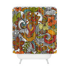 DENY Designs - Valentina Ramos Ava Shower Curtain - Why just jump in the shower when you can enter an eye-opening realm of lush jungle flowers? Just another way to make every day amazing — and you deserve it.