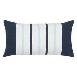 """Rizzy - Rizzy T05488 Pillow, 11"""" x 21"""" - Pillow with Hidden Zipper"""