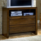 Modus Element Media Chest in Chocolate Brown