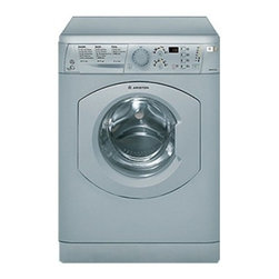 Ariston - ARWDF129SNA 1.82 cu. ft. Capacity Front-Load All-In-One Washer/Dryer Combo With - The Ariston laundry collection packs Energy Star efficiency into a space-saving compact frame making their machines practical and beneficial for any home This Ariston washerdryer combo boasting up to 15 lbs washing and 12 lbs drying capacity allows y...