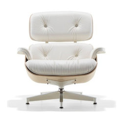 Herman Miller - Herman Miller   Eames® Lounge Chair, White Ash - White Ash introduction, 2011. Original design by Charles & Ray Eames, 1956.