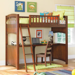 Lea Children's Furniture - Dillon Loft Bed - Dillon Loft Bed