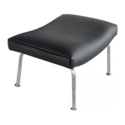 Whiteline - Lorenzo Ottoman - OT1189-WHT - Shop for Ottoman & Footstools from Hayneedle.com! Complete your contemporary living space with the Lorenzo Ottoman. This sleek ottoman lets you kick back in style. It's supported by metal base with polished chrome finish. The luxurious leather upholstery comes in your choice of color. This ottoman is a perfect addition t the Lorenzo Upholstered Arm Chair (sold separately). About Whiteline:With a product line that includes prime leather sofas comfortable beds and elegant dining room furniture Whiteline delivers modern and contemporary styles along with cozy comfort. Whiteline has 15 years of experience building furniture along with a worldwide network of skilled manufacturers to help them give you the best value for your money. And their huge collection of designs is sure to have something to suit your contemporary tastes.