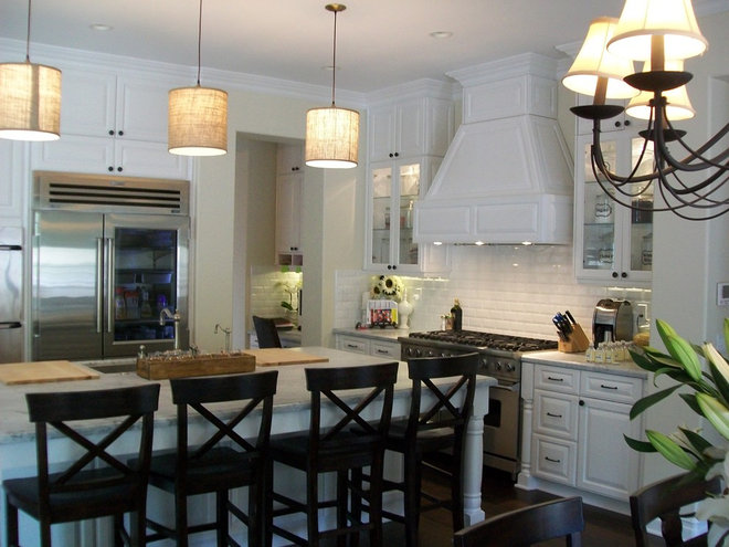Traditional Kitchen by CustomBuilt-ins.com / CFM Company Inc.