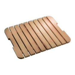 KOHLER - KOHLER K-6027-NA Bayview Wood Grate/Shelf for Sink Stand - KOHLER K-6027-NA Bayview Wood Grate/Shelf for Sink Stand