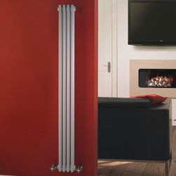 Hudson reed traditional vertical radiator heater cast for Comfortvu motorized tv mount