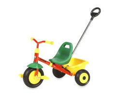 Kettler - Kettler Kettrike Junior Tricycle - Teach your tiny tot the fundamentals of riding a bicycle with the Kettler Kettrike Junior Tricycle. With a fixed front wheel the pedals will always rotate, teaching your child the motion of pedaling while building strong leg muscles.