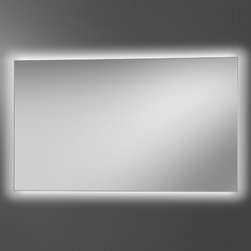 Artelinea - Artelinea | LED Diffusion Mirror - Made in Italy by Artelinea.The LED Diffusion Mirror adds the perfect amount of ambient lighting to modern bath spaces. The simple shape comes in a myriad of sizes that are sure to fit any wall's dimensions. Built with premium materials and cutting-edge lighting technology, this lighted mirror is sure to be a lasting addition to any bathroom. Product Features: