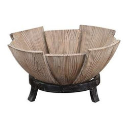 Uttermost - Uttermost Daruna Bowl - 19783 - Uttermost's accessories combine premium quality materials with unique high-style design.