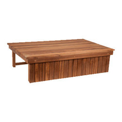 TEAKWORKS4U - Teakworks4u Elevated Teak Shower Mat And Step, Plantation Teak - Teakworks4u Elevated Teak Shower Mat And Step is compatible with most shower thresholds and bath tubs. It is naturally mold and mildew proof due to its high oil content. It is a step and a bath mat all in one.