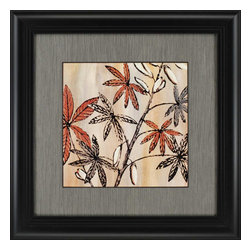 Paragon - Nature's Graphic II - Framed Art - Each product is custom made upon order so there might be small variations from the picture displayed. No two pieces are exactly alike.