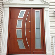 Modern Front Doors by Liberty Windoors Corp.