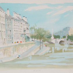 Pierre Pages, The St. Louis, Lithograph - Artist:  Pierre Pages, French