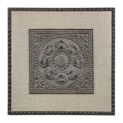 Uttermost - Uttermost Filandari Stamped Metal Wall Art - 13826 - -Uttermost's wall art combines premium quality materials with unique high-style design.