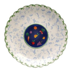 ATD - 7.5 Inch Multicolored Blue Cottage Garden Themed Desert Plate - This gorgeous 7.5 Inch Multicolored Blue Cottage Garden Themed Desert Plate has the finest details and highest quality you will find anywhere! 7.5 Inch Multicolored Blue Cottage Garden Themed Desert Plate is truly remarkable.