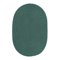 Colonial Mills - Colonial Mills Boca Raton BR62 Myrtle Green Rug BR62R144X180 12x15 - Just pick a coloreany colorethey are all here! This colorful outdoor rug utilizes a simple flat braid construction in an array of colors to put a fashionable stamp on your decor.