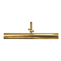 Frame Makers 18-inch Picture Light, Hand-Rubbed Antique Brass