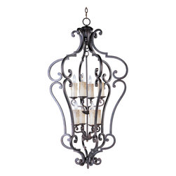 Maxim Lighting - Maxim Lighting 20744CU Richmond 8-Light Entry Foyer Pendant - Maxim Lighting 20744CU Richmond 8-Light Entry Foyer Pendant