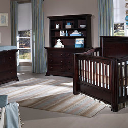 Camelot Convertible Crib - •Camelot features a straight, solid headboard