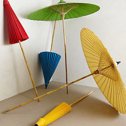 Mai Tai Garden Umbrella - I love these garden umbrellas —they remind me of drink umbrellas! Their bright colors are perfect for summer, and you can set them up in your backyard or tote them to the beach or park for a picnic.