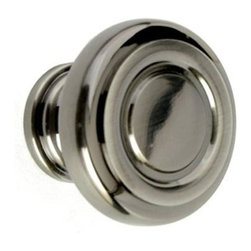 Q.M.I. - Ringed Knob in Pewter (Set of 10) - Includes mounting screws. Decorative. Easy to install. Limited lifetime warranty. Made from solid brass and zinc. 1.25 in. Dia. x 1 in. HAdd the finishing touches to your new vanity or cabinets or instantly update the look of your room with this hardware. Our cabinet knobs beautifully compliment any homes decor.