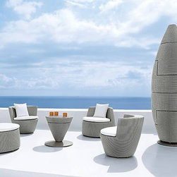Saporito Rattan Sofa Set - Features: