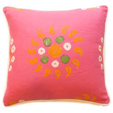 Mediterranean Decorative Pillows by Cristin Priest {Simplified Bee}