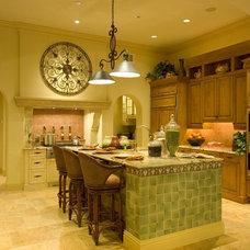 Mediterranean Kitchen by Romanza Interior Design