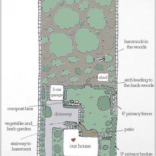A Diagram Of Our Home's Exterior Layout | Young House Love