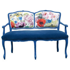 Eclectic Love Seats by EcoFirstArt